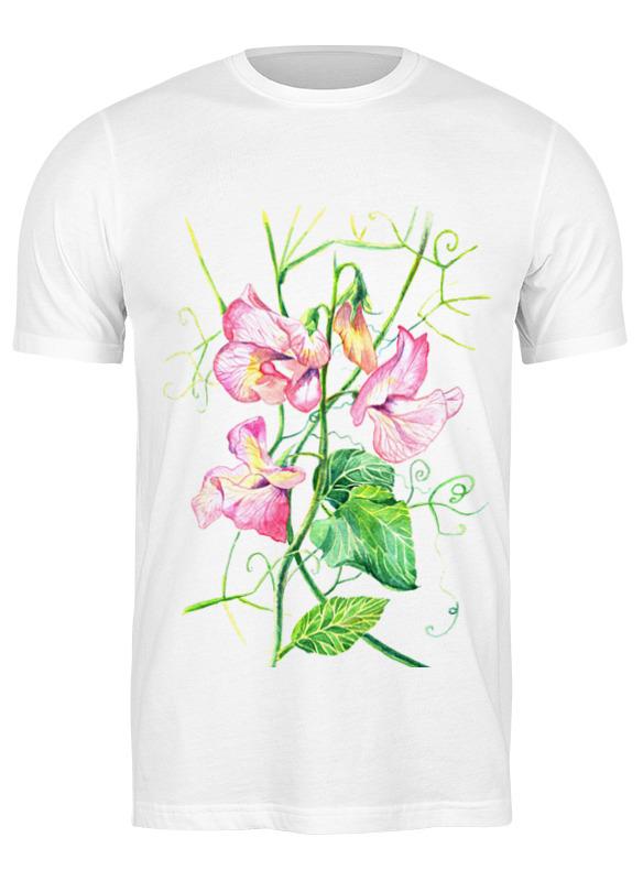 Printio Футболка классическая Цветы душистый горошек