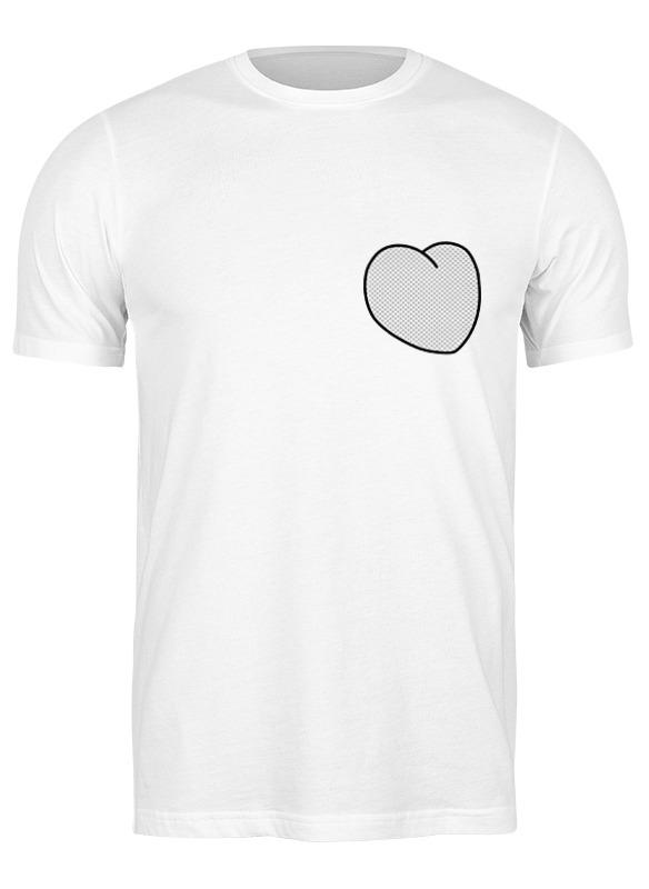 Printio Футболка классическая Вырезанное сердце printio футболка классическая вырезанное сердце 2
