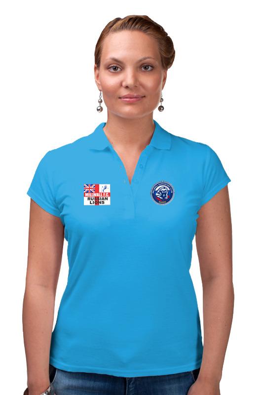 Printio Рубашка Поло Millwall msc russia women polo