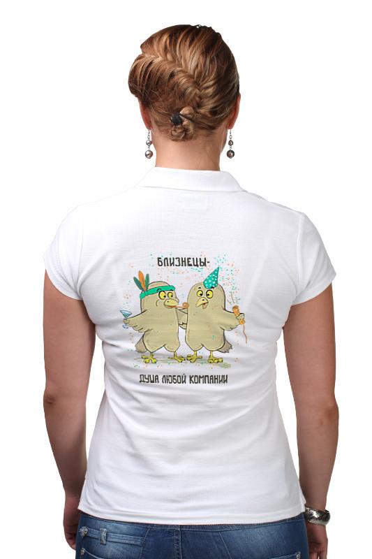 Printio Рубашка Поло Близнецы - душа компании