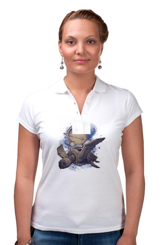 Printio Рубашка Поло Стимпанк птица