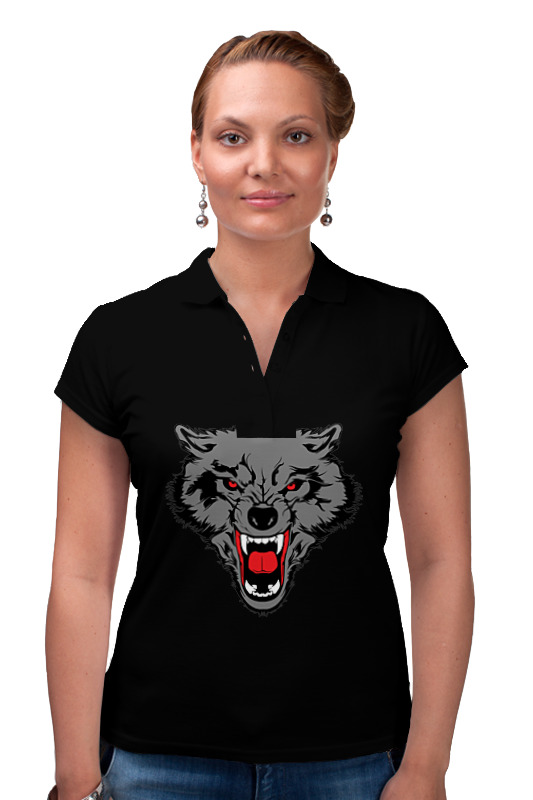 Фото - Printio Рубашка Поло Поло женское волк printio рубашка поло рысёнок