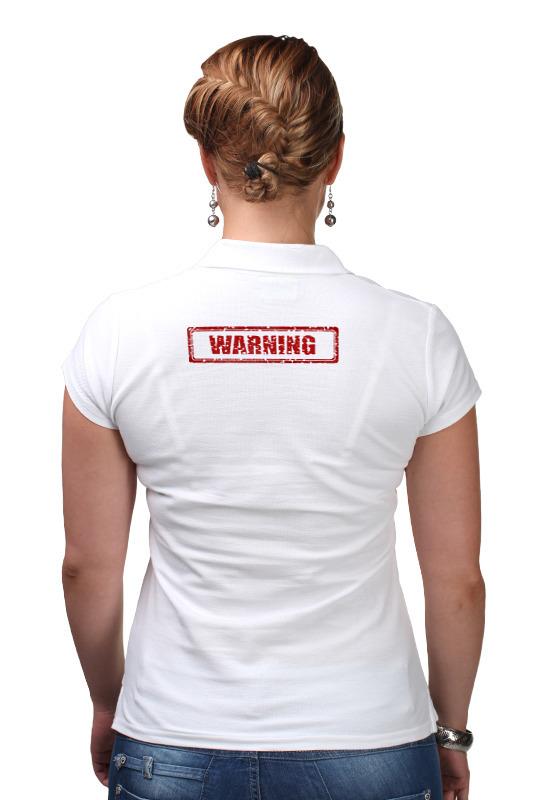 Фото - Printio Рубашка Поло Warning printio рубашка поло рысёнок