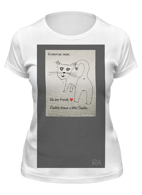 Фото - Printio Футболка классическая Котэ 1 printio футболка классическая королева котэ
