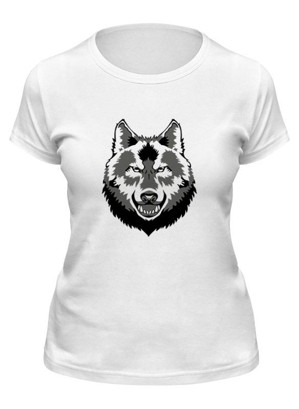 Printio Футболка классическая Grey wolf