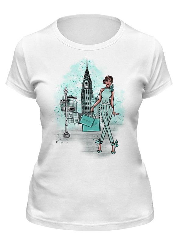 Printio Футболка классическая Tiffany. new york