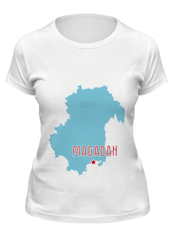 Printio Футболка классическая Магаданская область. магадан
