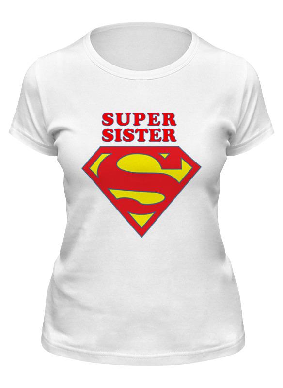 Printio Футболка классическая Super sister printio футболка классическая twisted sister