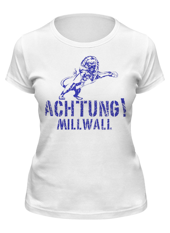 Printio Футболка классическая Achtung millwall fc logo women tee