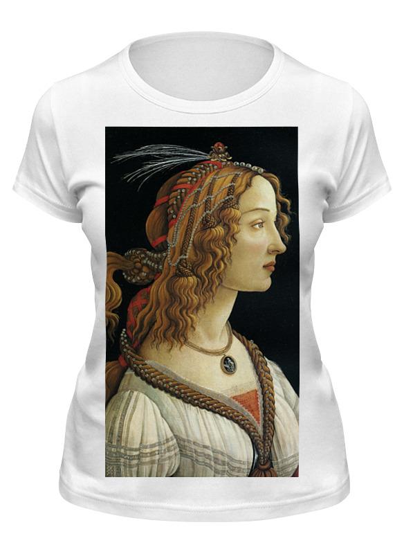 Printio Футболка классическая Портрет молодой женщины (боттичелли)