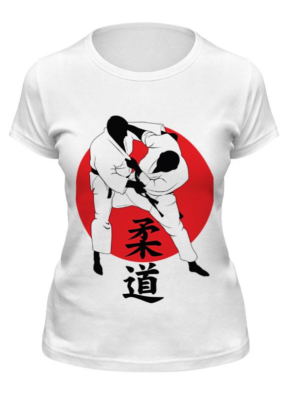 Printio Футболка классическая Дзюдо judo бросок япония