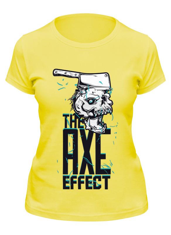 Printio Футболка классическая The axe effect майка классическая printio the axe effect