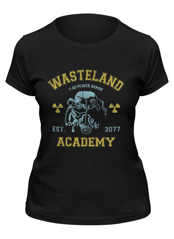 Printio Футболка классическая Fallout. wasteland academy футболка тренировочная женская nike academy 893741 361