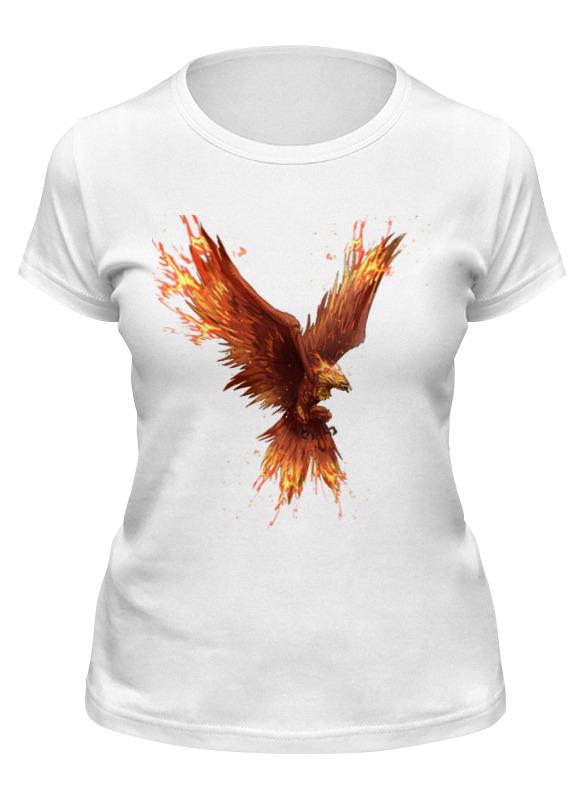 Фото - Printio Футболка классическая Птица-феникс printio футболка классическая 3 индийских символа для счастливой жизни