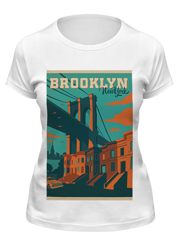 Printio Футболка классическая Brooklyn