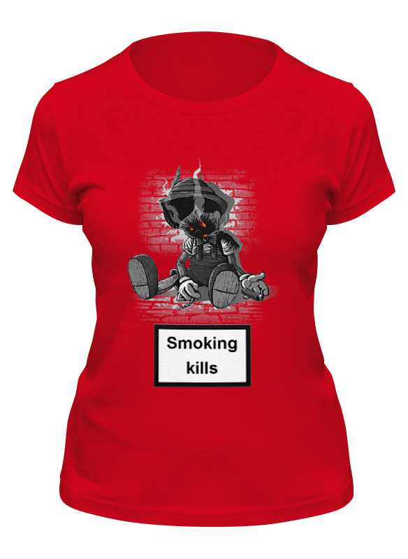 Printio Футболка классическая Smoking kills smoking kills