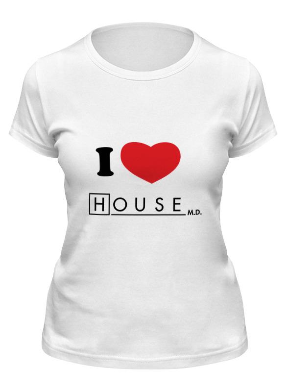 Фото - Printio Футболка классическая I love house printio футболка классическая witch house