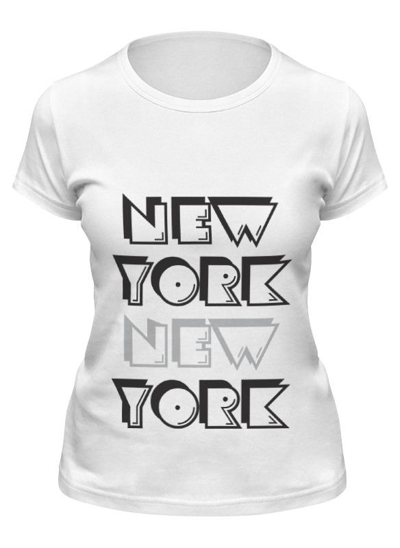 Printio Футболка классическая New york