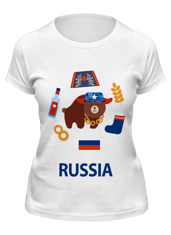 Printio Футболка классическая Россия (russia)