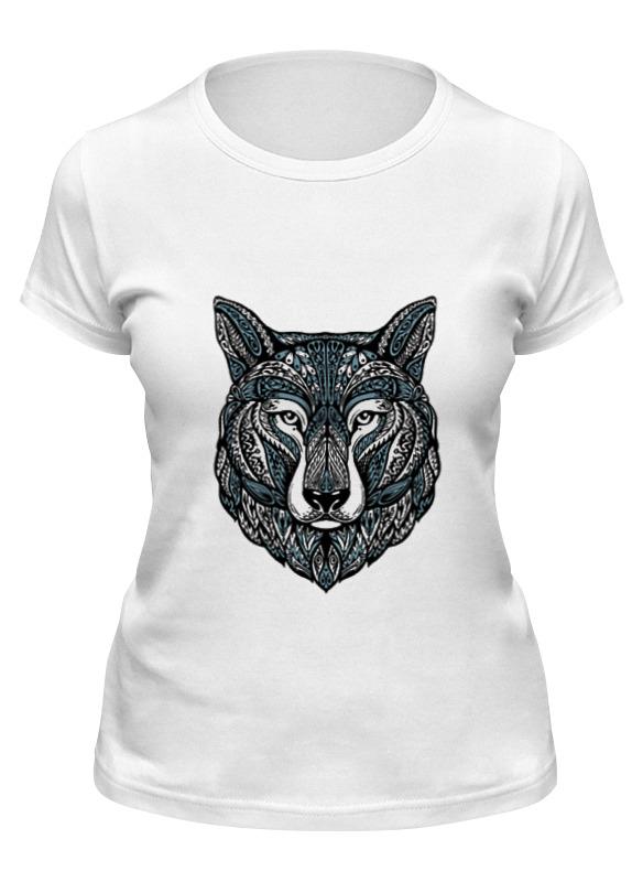 printio серый волк 1 Printio Футболка классическая Серый волк