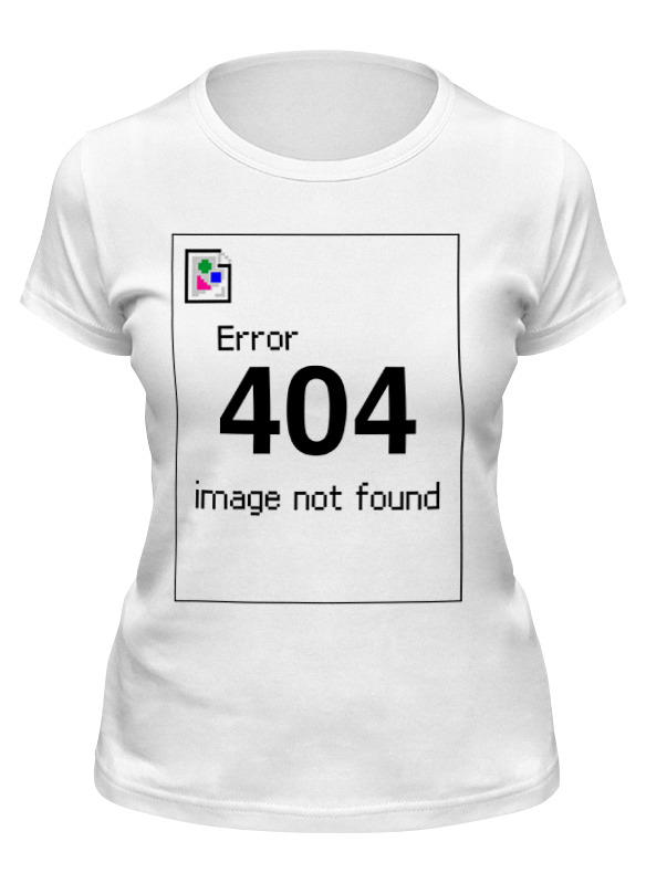 Printio Футболка классическая Error 404 футболка wearcraft premium printio 404 not found