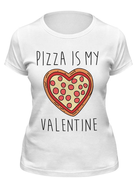 Printio Футболка классическая Пицца - мой валентин