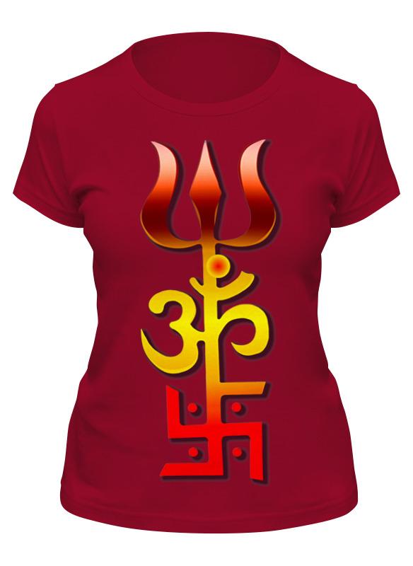 Фото - Printio Футболка классическая 3 индийских символа для счастливой жизни printio футболка классическая 3 индийских символа для счастливой жизни