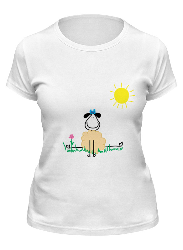 Фото - Printio Футболка классическая Овечка printio футболка классическая овечка