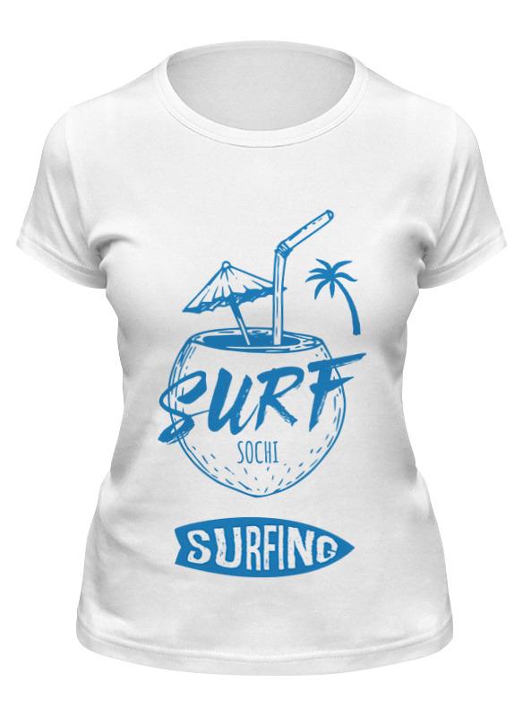 Printio Футболка классическая Сочи серфинг