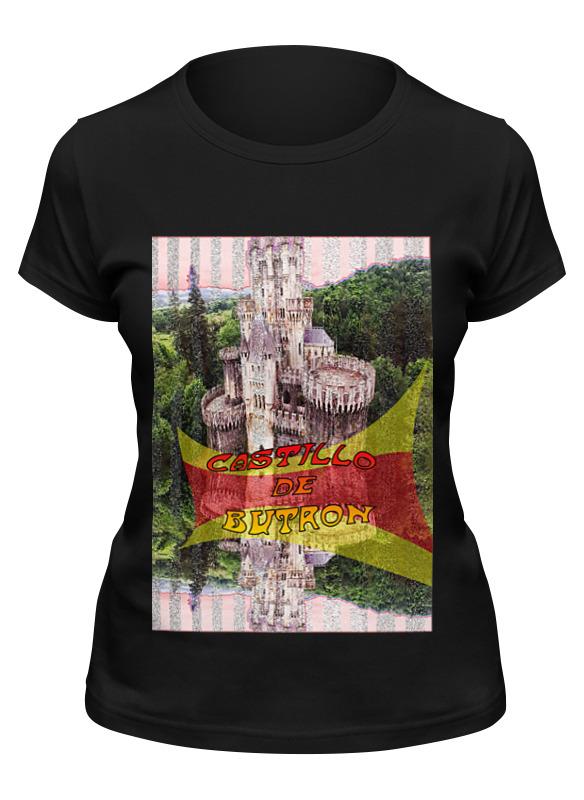 Printio Футболка классическая Замки испании. замок бутрон