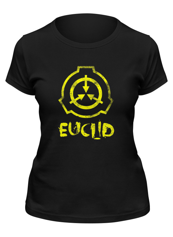 euclid euclid euclids elements of geometry Printio Футболка классическая Scp, euclid