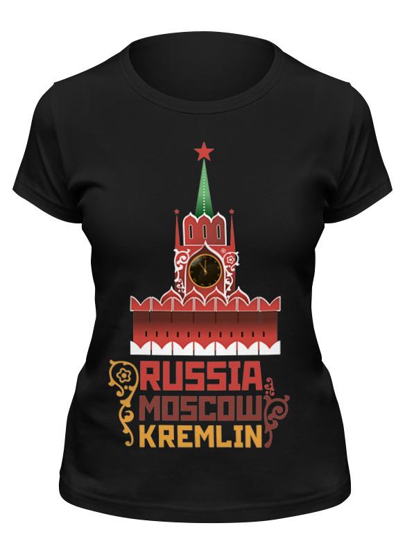 Printio Футболка классическая Москва, кремль (россия)