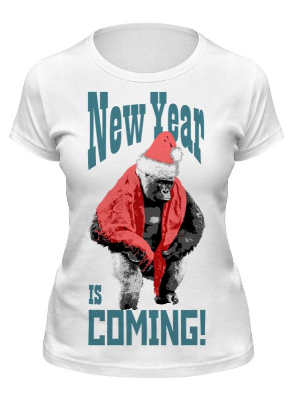 Printio Футболка классическая Новый год идет!