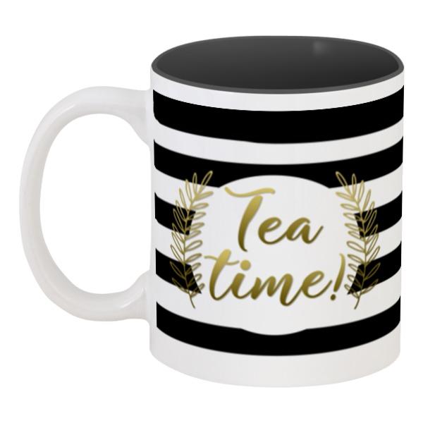 Printio Кружка цветная внутри Время чая