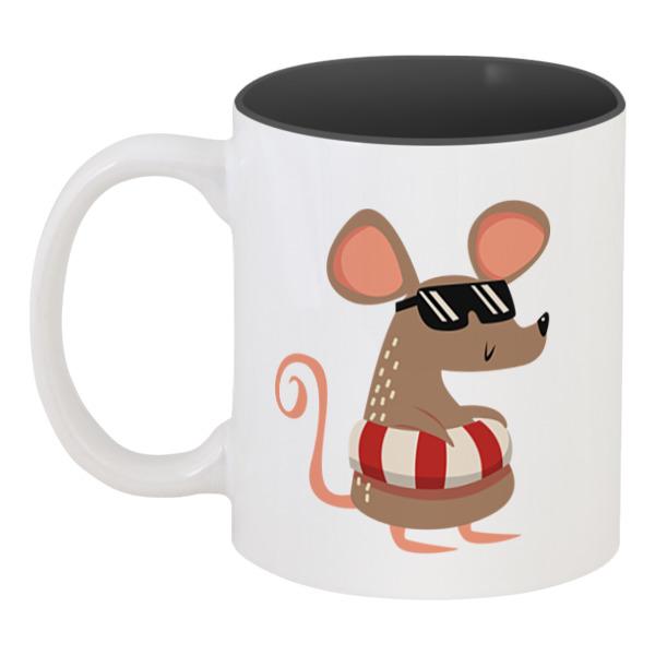 Printio Кружка цветная внутри Крыса