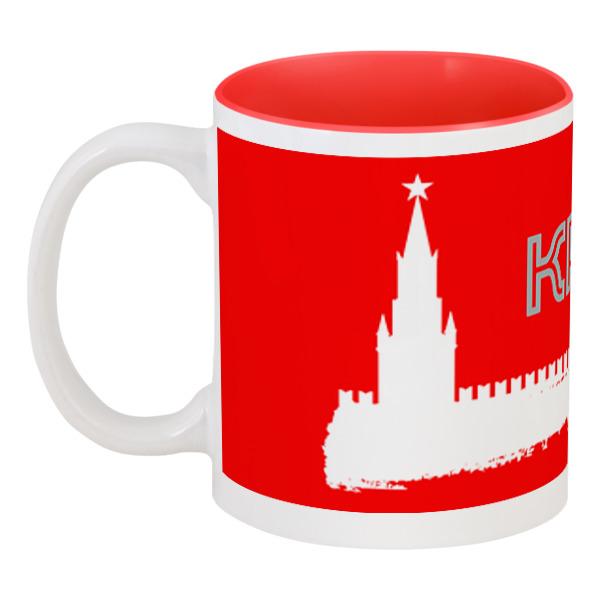 Printio Кружка цветная внутри Москва, кремль. printio кружка московский кремль