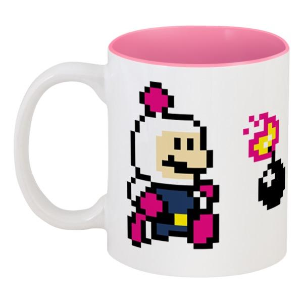 Printio Кружка цветная внутри Bomberman printio кружка цветная внутри спотипёс