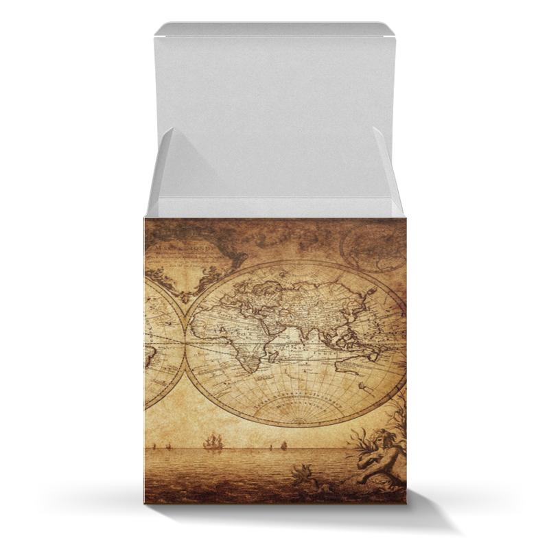 Фото - Printio Коробка для кружек Старинная карта мира printio коробка для кружек ковид царь мира