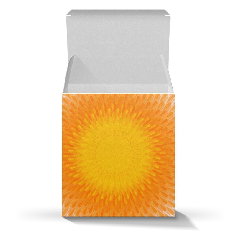 Printio Коробка для кружек Солнечный круг, подарочный орнамент