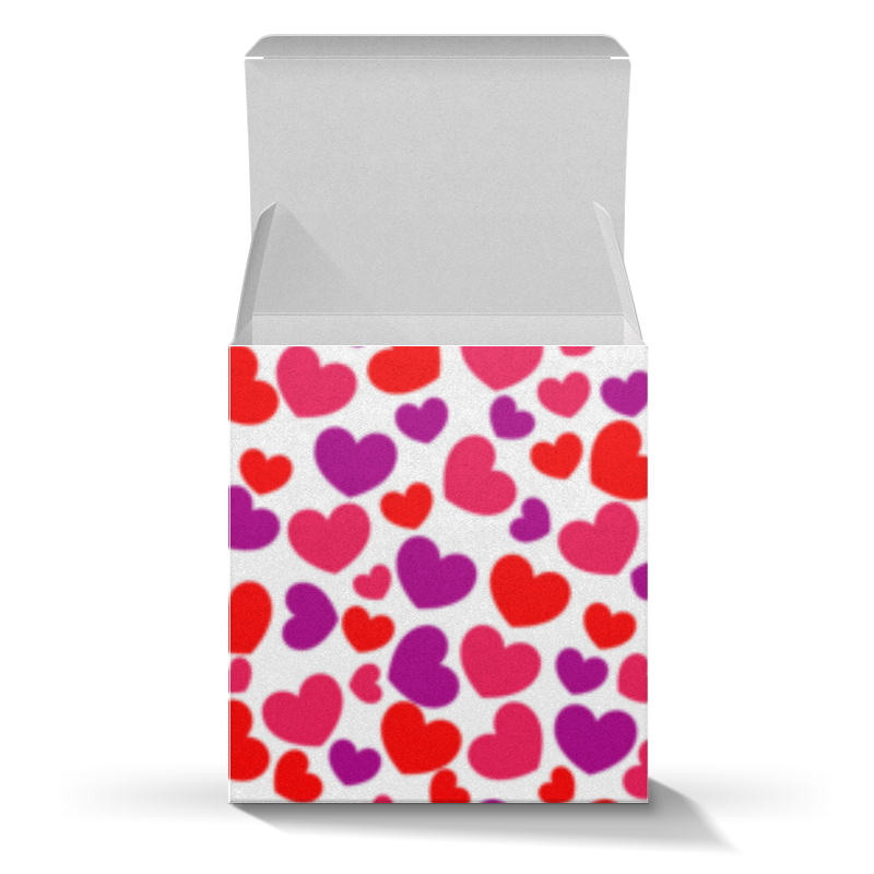 Printio Коробка для кружек Сердца