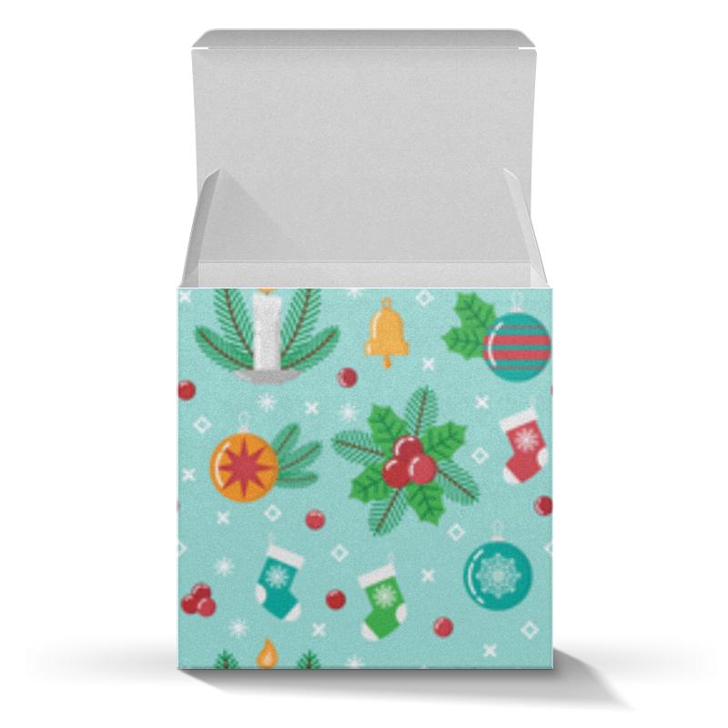 Printio Коробка для кружек Новогодний паттерн