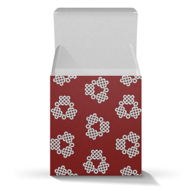 Printio Коробка для кружек Красная коробка с кельтспиннер узором недорого