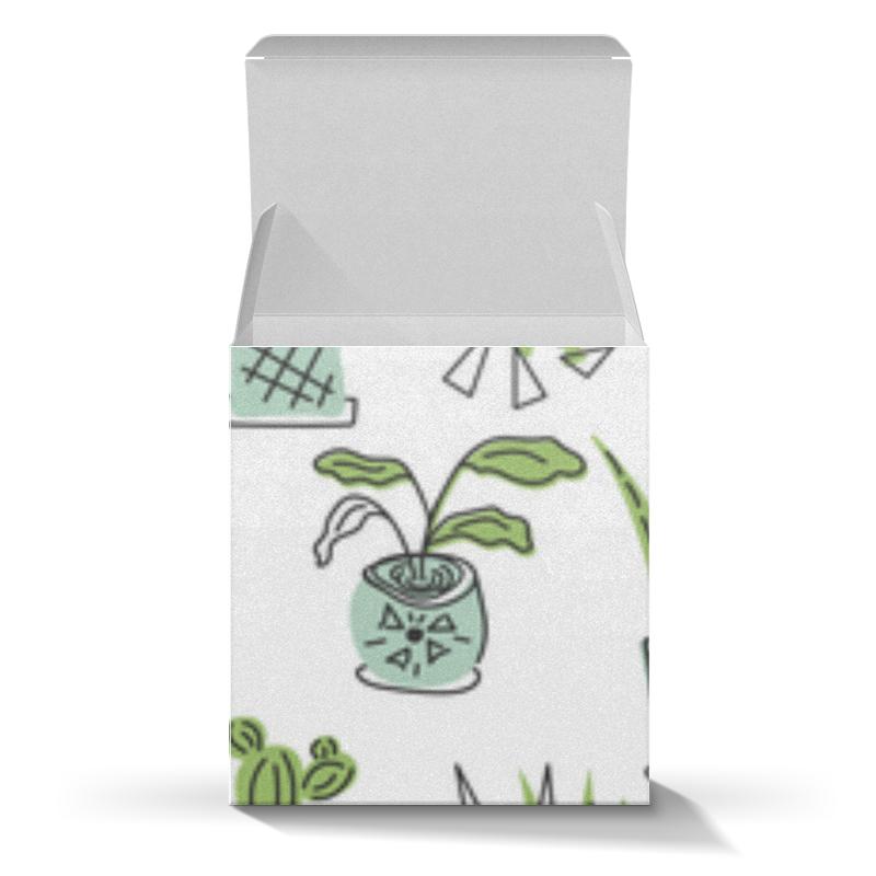 Printio Коробка для кружек Комнатные растения и кактусы