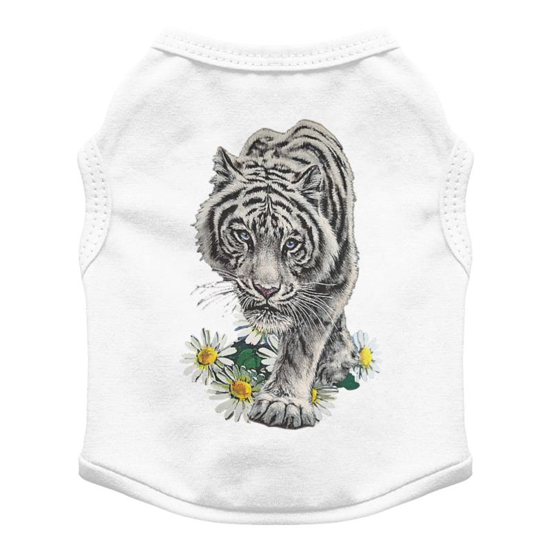 Printio Футболка для собак Белый тигр.