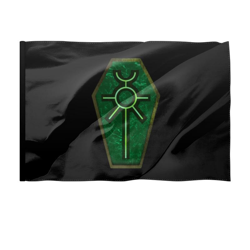Printio Флаг 135×90 см Некроны