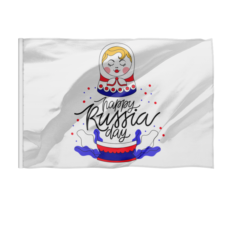 Printio Флаг 135×90 см 12 июня