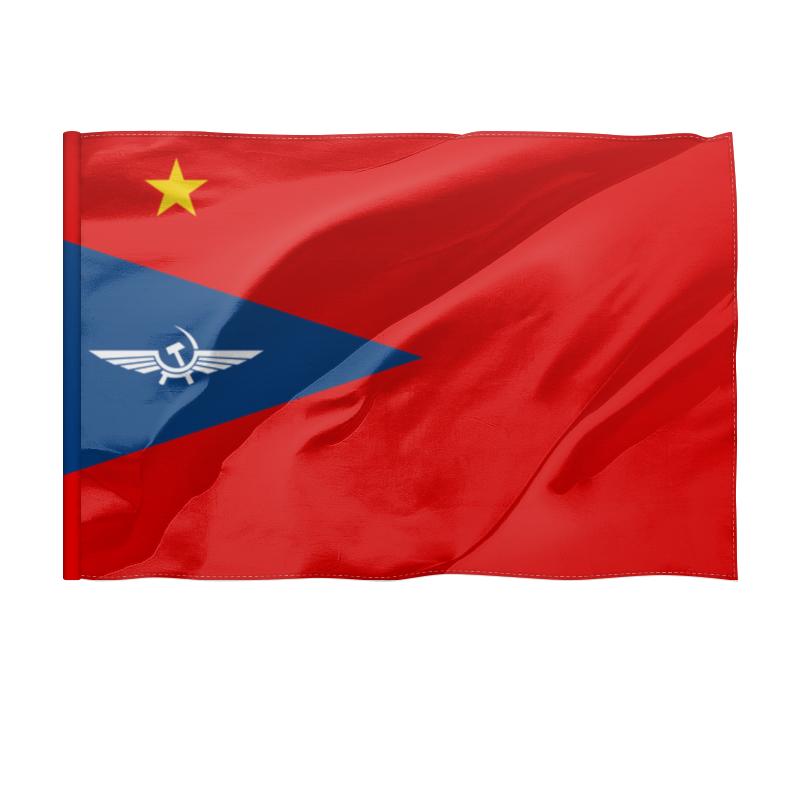 Printio Флаг 135×90 см Флаг гражданской авиации ссср