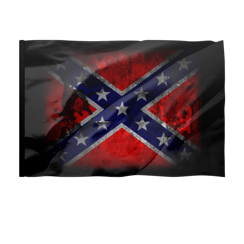 Printio Флаг 135×90 см Флаг конфедерации сша