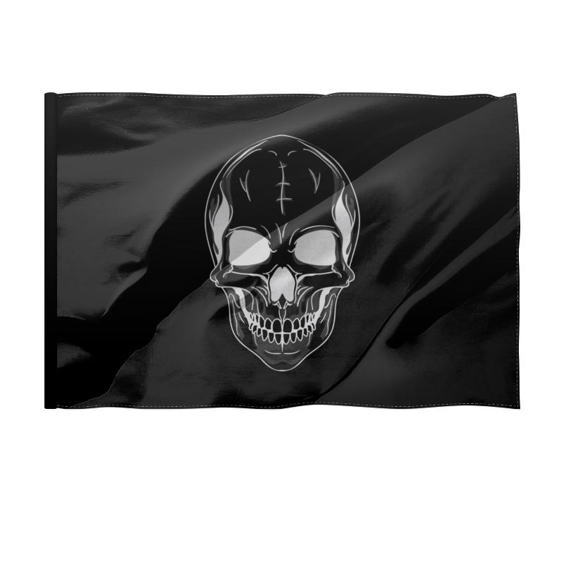Printio Флаг 135×90 см Череп