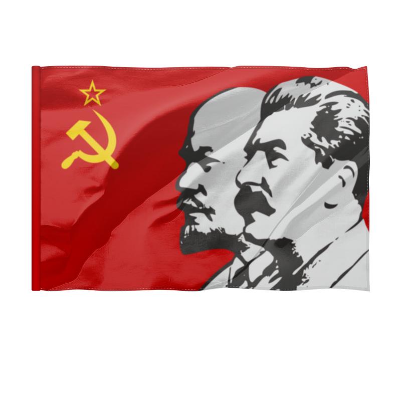 Printio Флаг 135×90 см Ленин.сталин.ссср